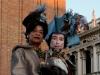 Photos en gros plan des costumes du Carnaval de Venise