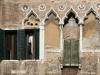 Fenêtres corte del Milion à Venise