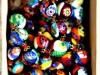 Perles de verre de Murano