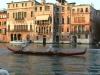 Course des gondoliers à la Regata storica de Venise