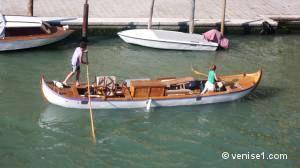 barques de Venise et de la lagune