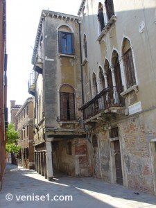 Rio Terà dei catecumeni à Venise
