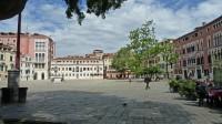 Le campo San Polo à Venise