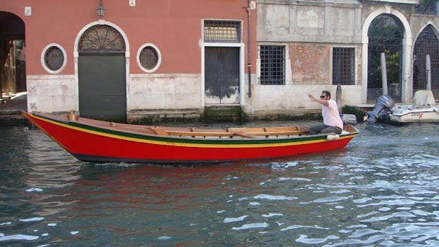Venise en barque