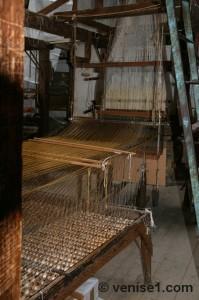tissus Bevilacqua à Venise tessitura
