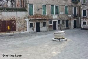 Fonctionnement des puits de Venise