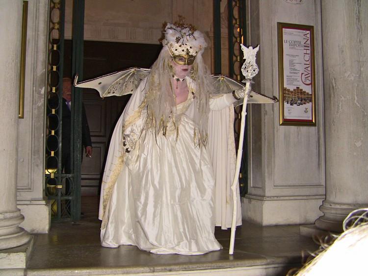 Vidéo des masques et costumes du carnaval de Venise