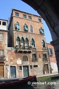 Maison de Tintoret à Venise