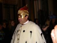 En habit de doge au carnaval de Venise
