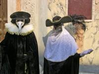 Costumes traditionnels du carnaval de Venise
