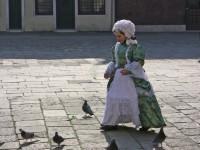 Enfant à Venise Venise avec un enfant