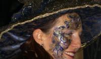 Sourire au carnaval de Venise