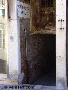 Sotoportego Zurlin à Venise