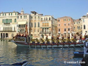 cortège historique de la régate historique de Venise our regata storica