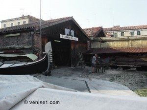 Squero Tramontin à Venise