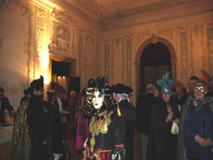 Bal costumé au Palais du Ridotto carnaval de Venise