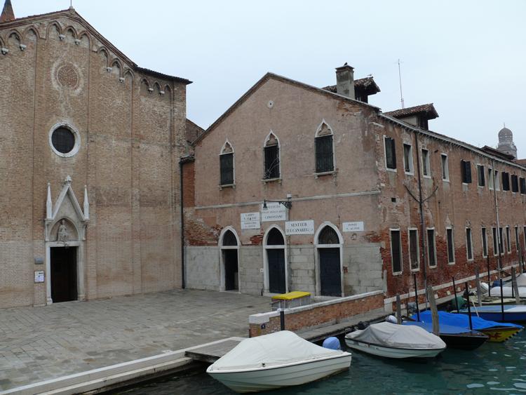 Eglise Sant Alvise à Venise
