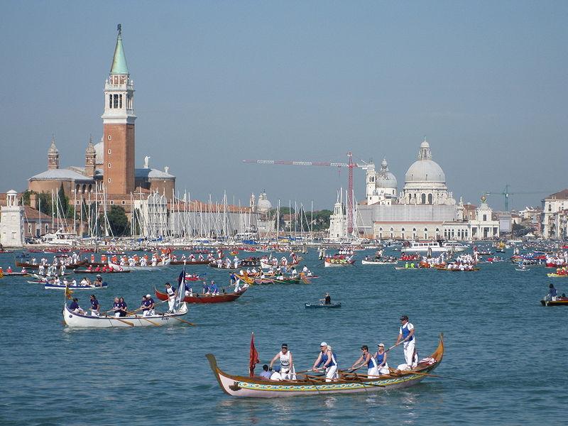 La Vogalonga à Venise