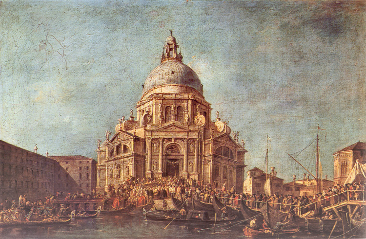 Fête de la Madonna della Salute à Venise