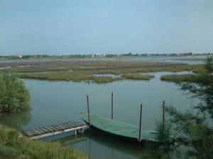 parc de la lagune nord de Venise