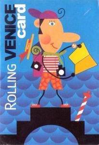 Rolling Venice Card ou Rolling card