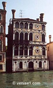 palais-ca' dario à Venise