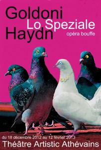 Lo Speziale, opéra-bouffe de Goldoni et Haydn, à Paris