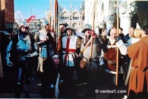 fête des Marie au carnaval de Venise