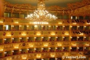 Réserver un concert à La Fenice de Venise