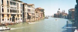 Que voir à Venise en 1 jour : Grand canal à Venise