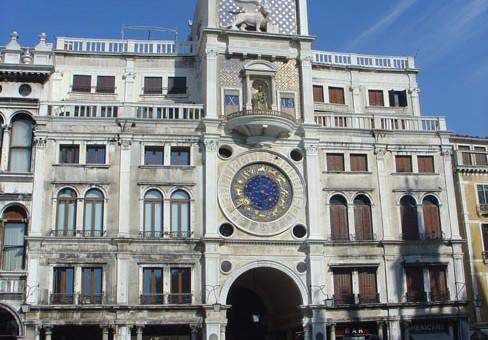 La Tour de l'horloge à Venise