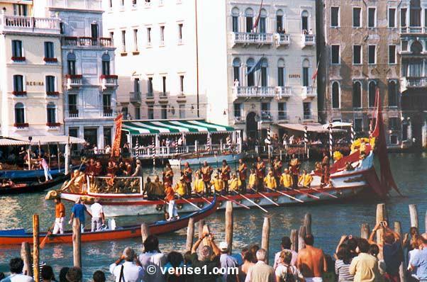 Regata Storica 2016 régate historique à Venise la régate historique de Venise