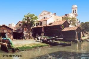 Squero de San Trovaso à Venise