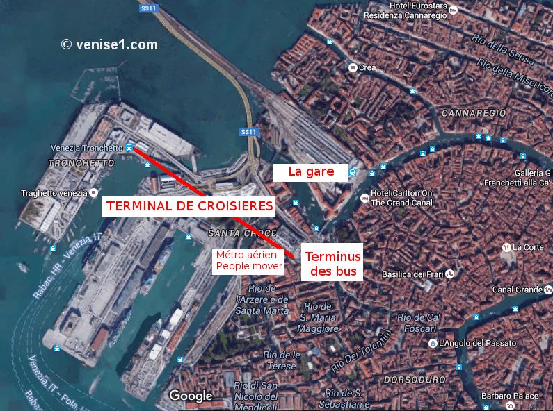 Port de croisières à Venise venise1.com