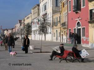 zattere à Venise