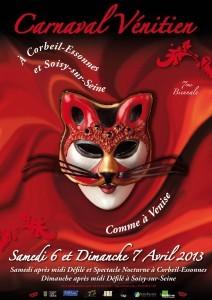 Carnaval vénitien de COrbeil-Essonnes et Soisy-sur-Seine