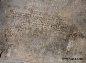 graffitis des prisons du palais des doges