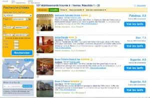 Hôtels à Venise