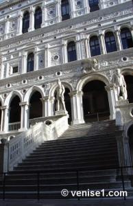 escalier des géants du palais des doges