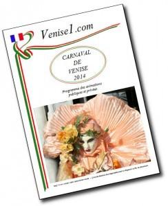 Carnaval de Venise 2014, programme