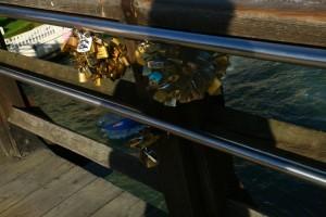 Cadenas d'amour à Venise