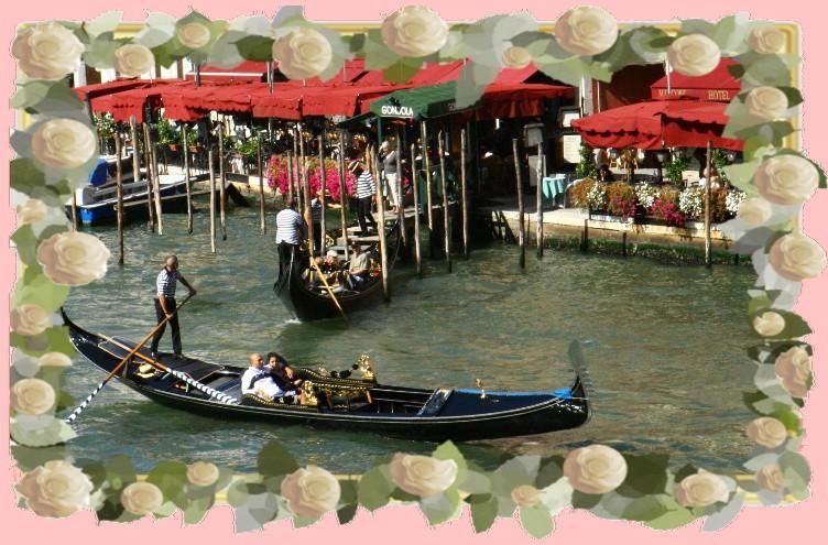 Cadeau de mariage à Venise