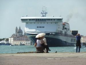 No grandi navi Navires de croisière à Venise