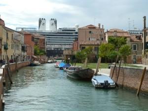 no grandi navi Grands navires de croisière à Venise