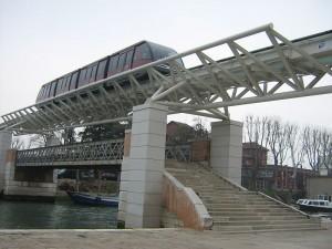 People mover à Venise