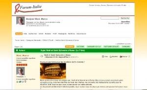 Forum Venise, forum Rome, forum Florence, Naples et toute l'Italie