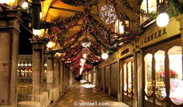Noël et nouvel an à Venise