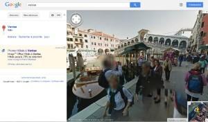Vue de Google Streets Venise