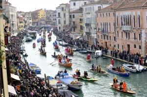 Cérémonies d'ouverture du carnaval de Venise