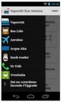 Applications bus et vaporetto Venise